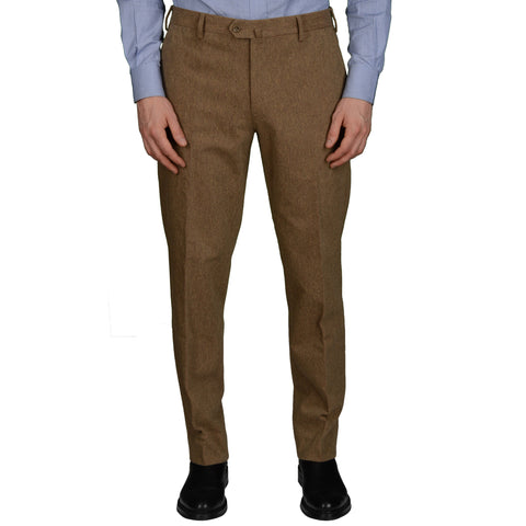 LORO PIANA Made In Italy Olive Cotton Pants EU 50 US 34 Straight Fit
