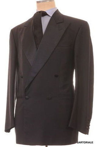 Mariano RUBINACCI London House Navy Blue Wool DB Tuxedo Suit EU 54 NEW US 44 - SARTORIALE - 1