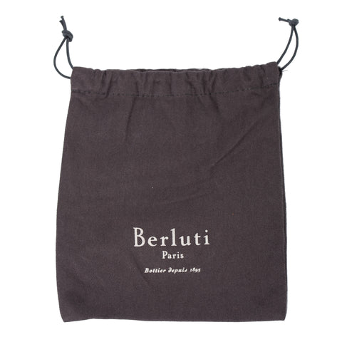 BERLUTI Paris Cacao Venezia Leather Strap for Bag Briefcase NEW