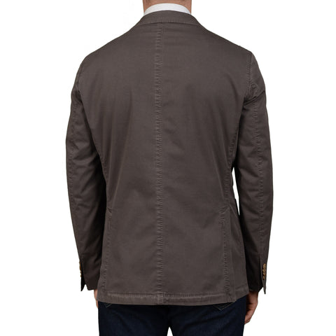 "BOGLIOLI Milano ""Coat"" Slate Cotton Unlined Blazer Jacket EU 50 NEW US 40"