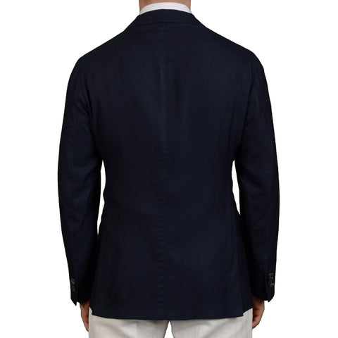 "BOGLIOLI Milano ""K. Jacket"" Navy Blue Cashmere-Silk Unlined Jacket EU 50 NEW US 40"