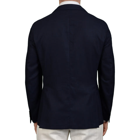 "BOGLIOLI Milano ""Dover"" Navy Blue Wool Unlined Blazer Jacket EU 50 US 40"