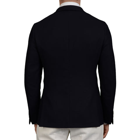 "BOGLIOLI Milano ""SForza"" Navy Blue Wool Blazer Jacket EU 50 NEW US 40"