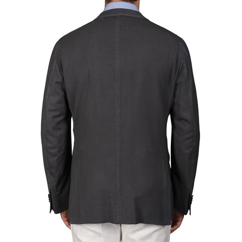"BOGLIOLI Milano ""K. Jacket"" Gray Wool Unlined Blazer Jacket EU 54 NEW US 44"