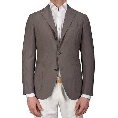 "BOGLIOLI Milano ""K. Jacket"" Gray Wool Unlined Blazer Jacket EU 48 NEW US 38"