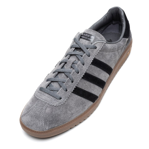 "ADIDAS ORIGINALS ""Bermuda"" Gray-Black-Gum5 Shoes UK 11.5 NEW US 12"