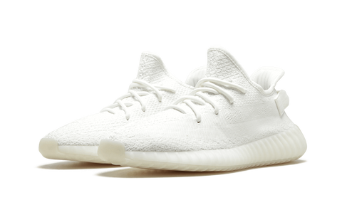 ADIDAS X KANYE WEST YEEZY BOOST 350 V2 Triple White Shoes UK 8.5 NEW US 9