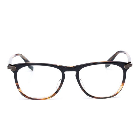 "BARTON PERREIRA ""Lautner"" Tortoise Acetate Square Eyeglasses with Case"