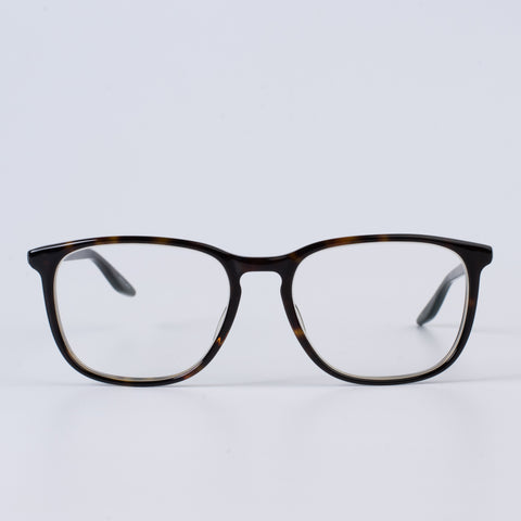 "BARTON PERREIRA ""Barrett"" Black Tortoise Rectangular Eyeglasses with Case"