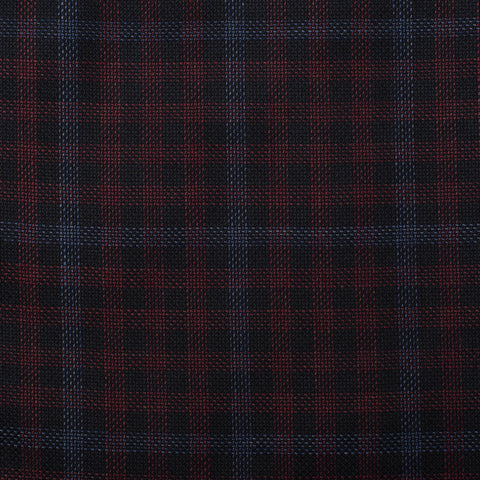 BELVEST Handmade Plaid Wool Super 130's Suit EU 50 NEW US 38 Slim Fit