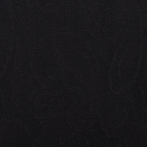 BELVEST Black Paisley 1 Button Peak Lapel Formal Suit Tuxedo EU 50 NEW US 40