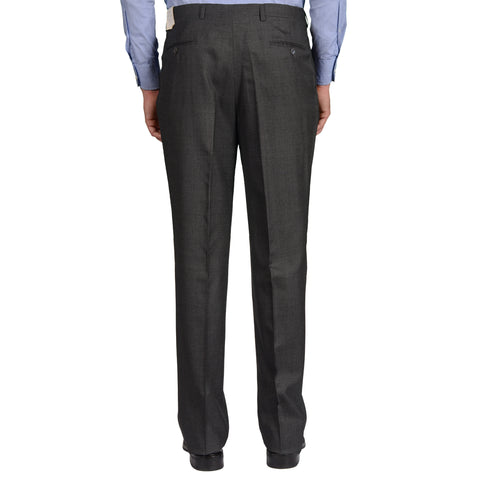 BIJAN Beverly Hills Gray Wool DP Dress Pants EU 52 NEW US 36 Classic Fit