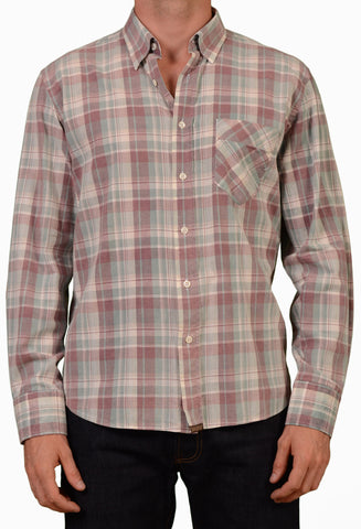 BILLY REID USA Multi-Color Plaid Cotton Casual Walland Shirt EU 52 NEW US L - SARTORIALE - 1