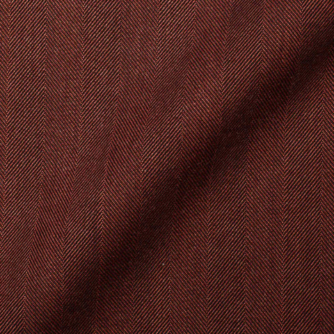 "BOGLIOLI Milano ""K. Jacket"" Crimson Herringbone Wool Unlined Jacket 48 NEW US 38"