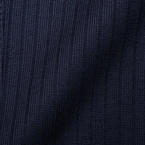 "BOGLIOLI ""K. Jacket"" Navy Blue Cotton-Wool Knitted Unlined Jacket 48 NEW US 38"