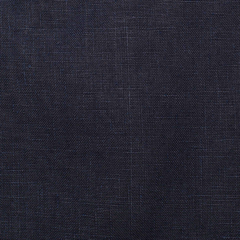 "BOGLIOLI ""K. Jacket"" Navy Blue Linen Garment Dyed Unlined Jacket EU 54 NEW US 44"