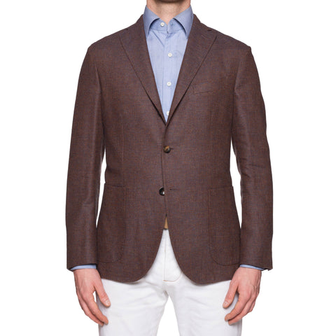 "BOGLIOLI ""K. Jacket"" Wool-Linen-Cashmere Unlined Jacket 50 NEW 40"