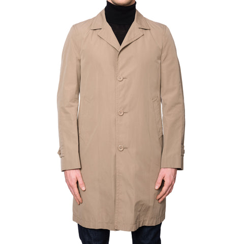 BOGLIOLI Milano Beige Cotton Rain Coat EU 50 NEW US M