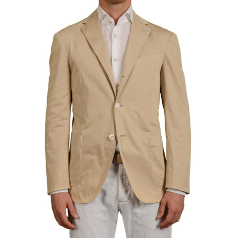 "BOGLIOLI Milano ""Coat"" Beige Cotton Unlined Blazer Jacket EU 50 NEW US 40 Defect"