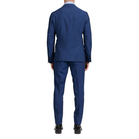 "BOGLIOLI Milano ""Eton"" Blue Wool-Mohair Unlined Summer-Spring Suit NEW"