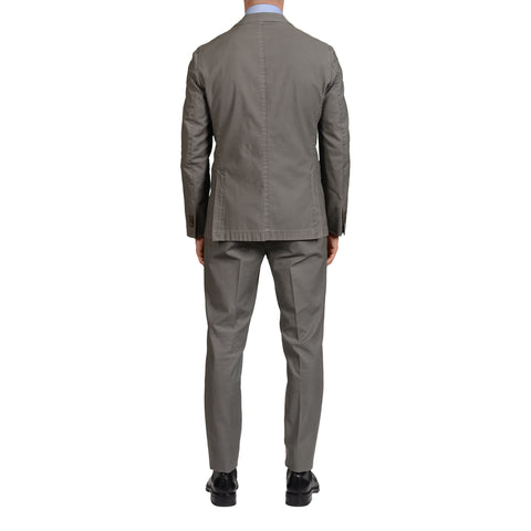 "BOGLIOLI Milano ""Coat"" Gray Cotton Unlined ""Soft"" Suit EU 50 NEW US 40"