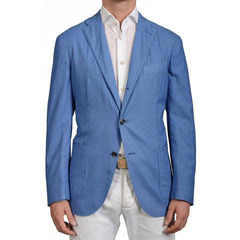 "BOGLIOLI Milano ""K.Jacket"" Blue Wool Unlined Blazer Sports Coat Jacket NEW"