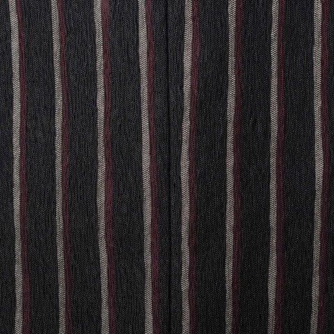 BOTTEGA VENETA Black Striped Cotton Blend 1 Button Jacket EU 52 NEW US 42