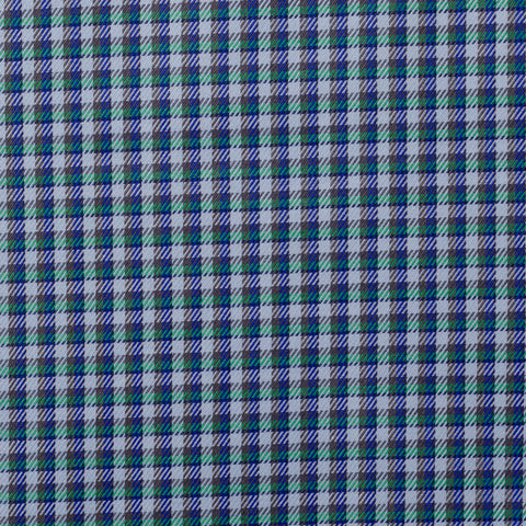 BRIONI Handmade Multi-Color Plaid Cotton Casual Shirt Size VII NEW US 3XL