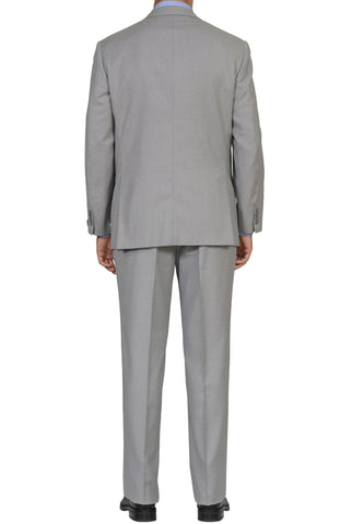"BRIONI ""PALATINO"" Handmade Gray Striped Wool Super 150's Suit EU 54 NEW US 44"