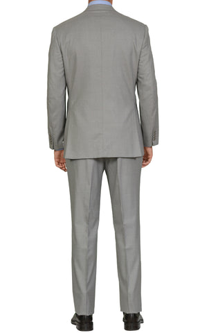 "BRIONI ""PARLAMENTO"" Handmade Gray Striped Wool Super 160's Suit EU 54 NEW US 44"