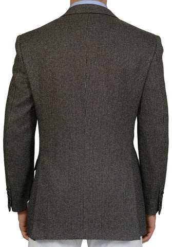 "BRIONI ""TIBERIO"" for ARAMIS Handmade Gray Cashmere DB Blazer Jacket 50 NEW US 40"