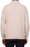 BRUNELLO CUCINELLI Cream Cashmere Crewneck Sweater US XXL NEW EU 56
