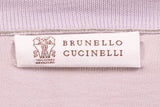 BRUNELLO CUCINELLI Light Levander Cotton Sweater US M NEW EU 50