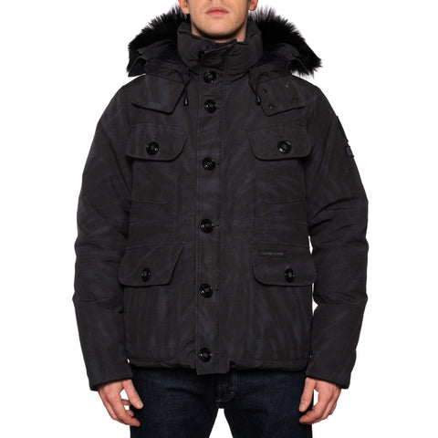 CANADA GOOSE X CONCEPTS Selkirk Limited Edition Black Parka Jacket NEW L