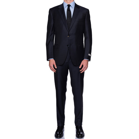 CANALI 1934 Dark Navy Blue Wool Suit NEW 2019-2020 Model