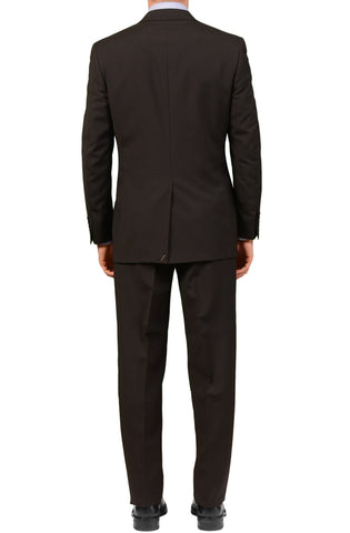 "CANALI Italy Black Wool-Mohair Suit Classic Fit ""Natural Comfort"" 48 NEW US 38"