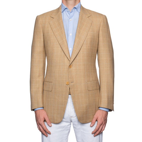 CASTANGIA 1850 Beige Wool Sport Coat Jacket EU 48 NEW US 38