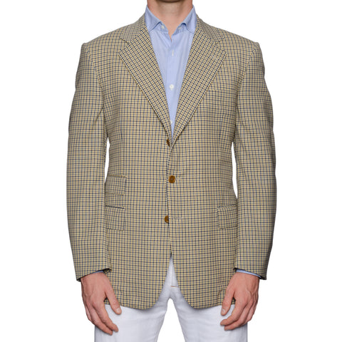 CASTANGIA 1850 Beige Wool Sport Coat Jacket EU 50 NEW US 40