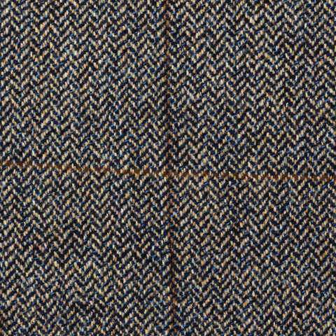 CASTANGIA 1850 Beige Herringbone Plaid Wool-Cashmere Jacket 48 NEW US 38