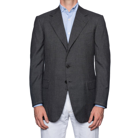 CASTANGIA 1850 Gray Lightweight Cashmere Sport Coat Jacket EU 52 NEW US 42