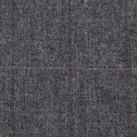 CASTANGIA 1850 Gray Plaid Wool Flannel Sport Coat Jacket EU 54 NEW US 44