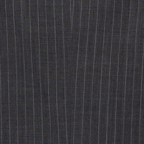 CASTANGIA 1850 Gray Striped Wool Business Suit EU 50 NEW US 40
