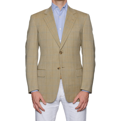 CASTANGIA 1850 Tan Wool Sport Coat Jacket EU 48 NEW US 38
