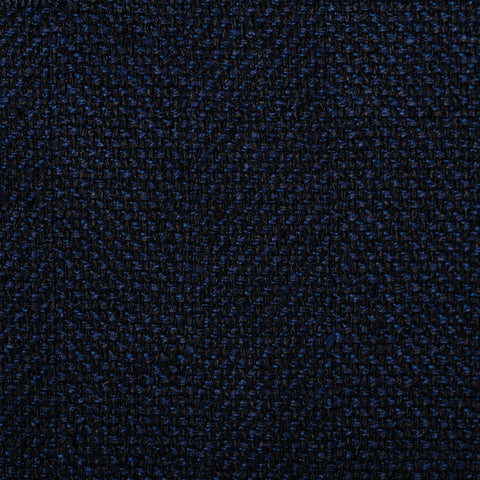CASTANGIA 1850 Navy Blue Silk-Wool Hopsack Sport Coat Jacket EU 50 NEW US 40