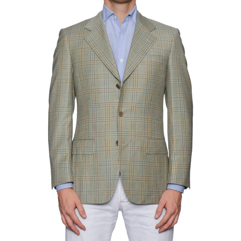 CASTANGIA 1850 Plaid Wool Sport Coat Jacket EU 46 NEW US 36