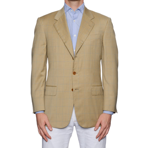 CASTANGIA 1850 Tan Wool Sport Coat Jacket EU 50 NEW US 40