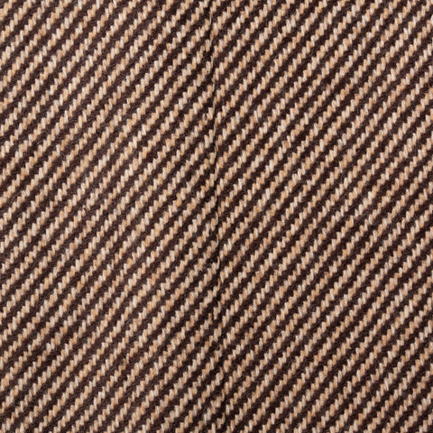 CESARE ATTOLINI Napoli Hand Made Brown Twill Cashmere Blazer Jacket 50 NEW US 40
