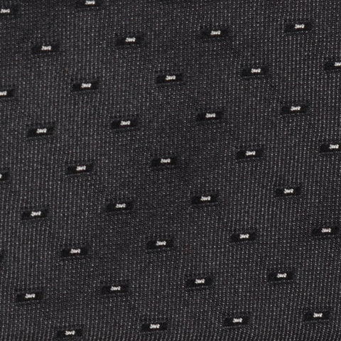 DIOR HOMME Gray Silk Satin Skinny Tie NEW