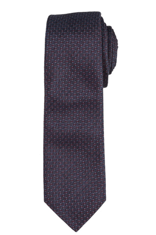 DIOR HOMME Purple Silk Satin Skinny Tie NEW