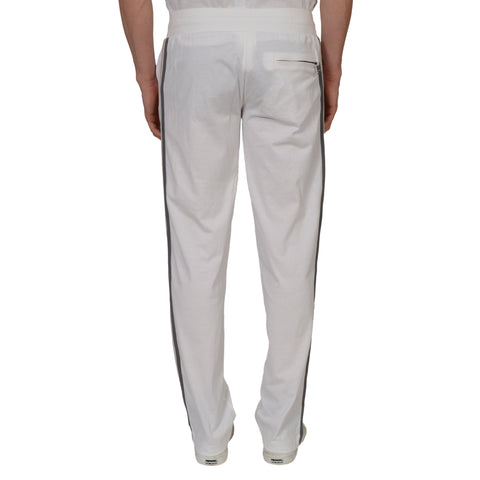 DOLCE & GABBANA White Cotton Sweatpants EU 48 US 32